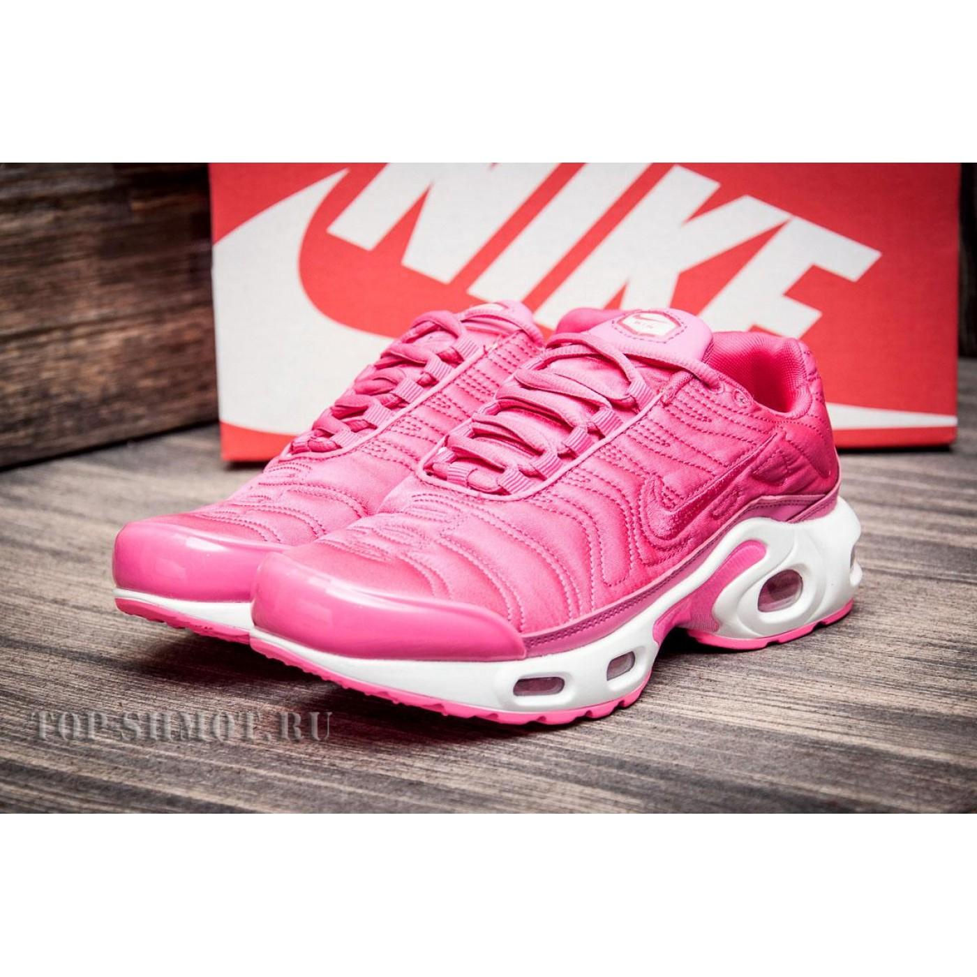 7a1d8bc6 Кроссовки женские Nike Air Max Tn plus, розовые (2550-3) размеры в