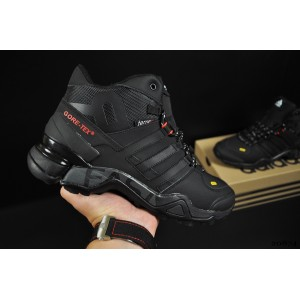 ботинки Adidas Terrex 465 арт 20874 (зимние, мужские, черные)