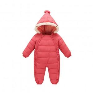 Комбинезон зимний для девочки New-Year, розовый Berni