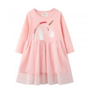 Плаття для дівчинки Shiny unicorn Jumping Meters