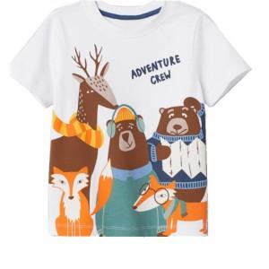 Детская футболка Туристы Jumping Meters