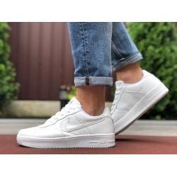 Демисезонные мужские кроссовки Nike Air Force,белые
