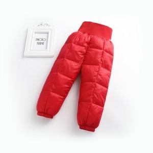 Детские демисезонные штаны , красный Berni