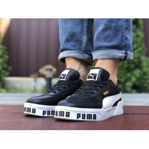 Мужские кроссовки Puma Cali Bold,черно белые
