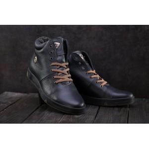 Ботинки Milord Olimp B (зима, мужские, натуральная кожа, синий)