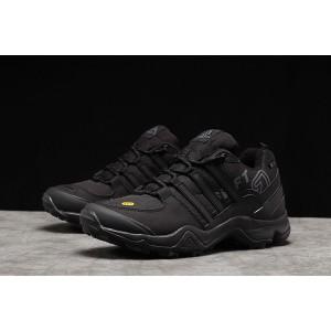 Зимние мужские кроссовки 31255, Adidas 465, черные [ 41 ] р.(41-26,3см)
