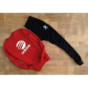 """Cпортивный костюм красный свитшот Adidas """""""" В стиле Adidas """""""" 0504"""