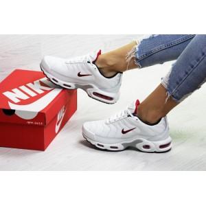 Подростковые зимние кроссовки Nike air max TN,белые 38р