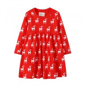Платье для девочки Deer Jumping Meters