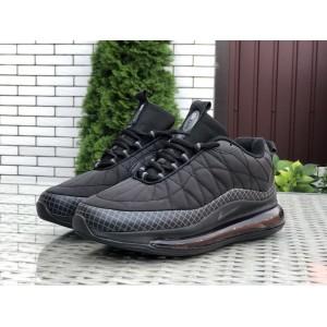 Мужские термо кроссовки Nike air max 720, черные