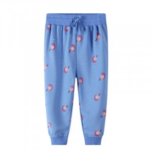 Штаны для девочки Pink unicorn Jumping Meters