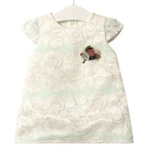 Платье для девочки Элегантность, бирюзовый Flexi