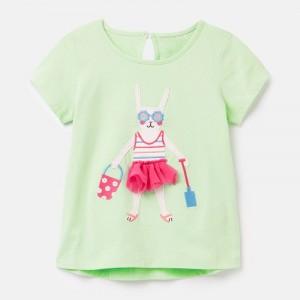 Футболка для дівчинки Cute bunny Little Maven