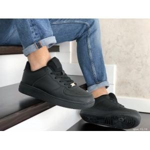 Мужские кроссовки Nike Air Force,черные