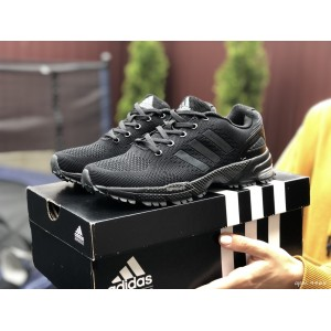 Подростковые (женские) летние кроссовки Adidas Marathon,черные
