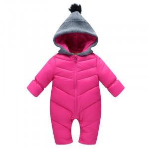Комбинезон демисезонный детский Сайд, розовый Berni