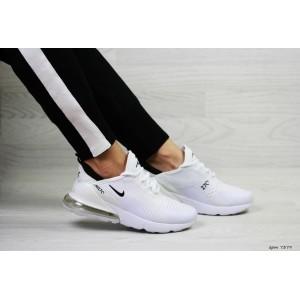 Весенние женские кроссовки Nike Air Max 270,сетка,белые 38р