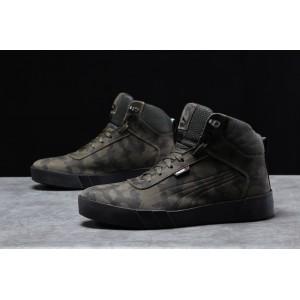 Зимние мужские кроссовки 31694, Puma Desierto Sneaker, хаки, [ 40 42 43 44 ] р. 42-27,6см.