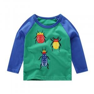 Кофта для мальчика Разноцветные жуки Little Maven