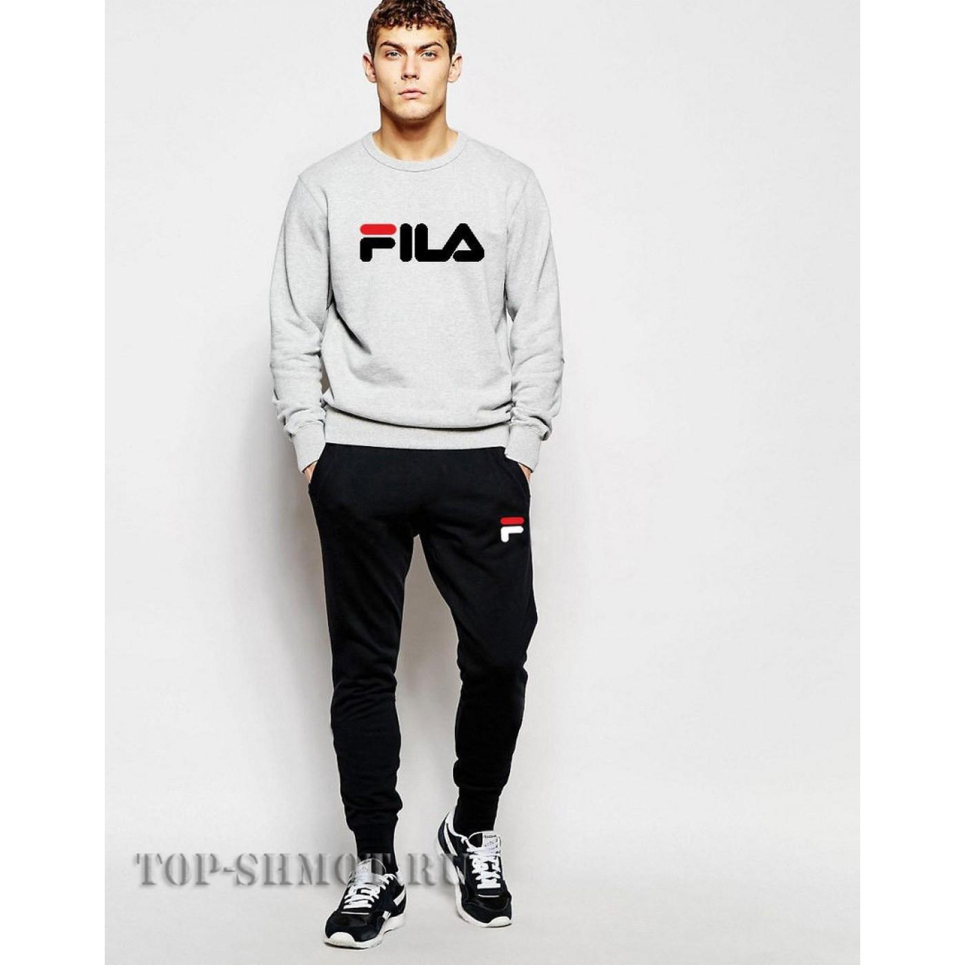 4cfac3c2 Купить Спортивный костюм FILA ( серый )