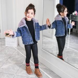 Куртка джинсовая детская демисезонная Мышонок Berni