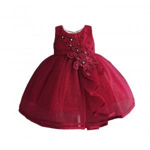 Платье для девочки Бордовая жемчужина Zoe Flower