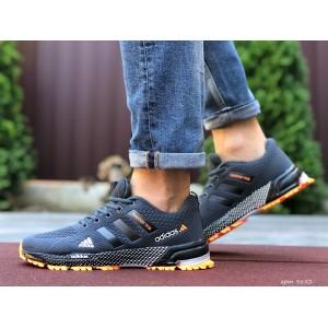 Мужские летние кроссовки Adidas Marathon TR 26,сетка,серые