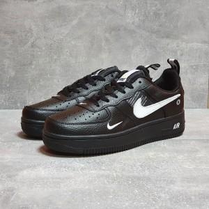 Кроссовки мужские 17502, Nike Air, черные, < 41 42 43 44 45 46 > р. 41-26,5см.