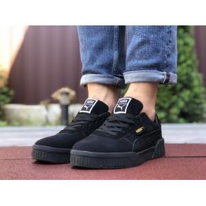 Мужские кроссовки Puma Cali Bold,черные,замшевые