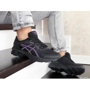 Мужские кроссовки Asics Gel-Kayano 25,сетка,черные