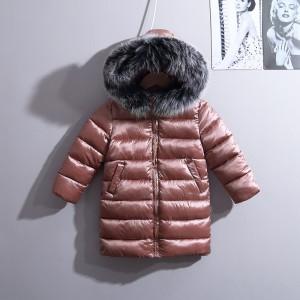 Куртка демисезонная для девочки Челси, коричневый Berni