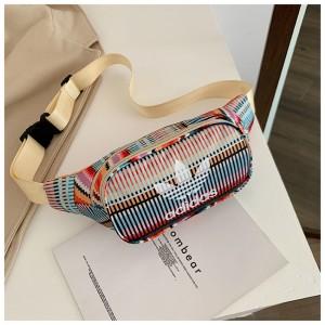 Поясная сумка, бананка adidas originals stripes