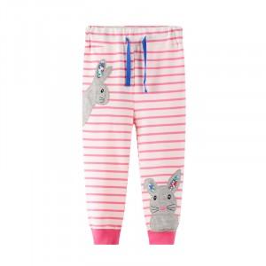 Штаны для девочки Gray bunny Jumping Meters