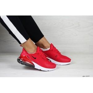 Модные женские кроссовки Nike Air Max 270,красные