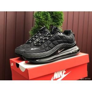 Мужские термо кроссовки Nike air max 720,черные