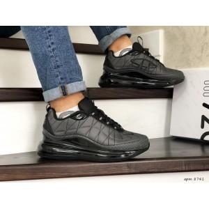 Мужские термо кроссовки Nike air max 720,серые