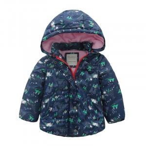 Куртка для девочки Лес Meanbear