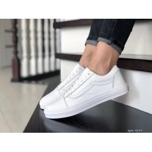 Женские кеды Vans,белые