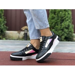 Женские кроссовки Puma Cali Bold,черно белые