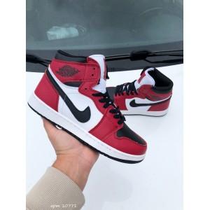 Модные подростковые кроссовки Nike Air Jordan, красные