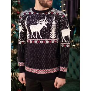 Вязаный свитер Staff dark