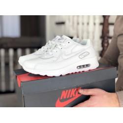 Мужские кроссовки Nike air max 90 White, белые