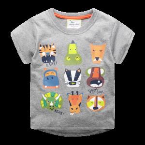 Детская футболка Африканские животные Jumping Meters