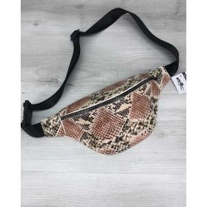 Женская сумочка Эмма бежевая