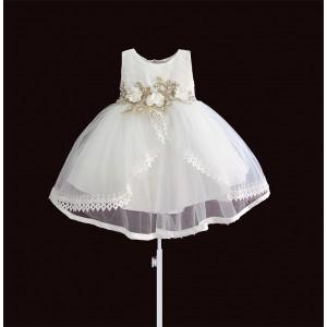 Платье для девочки Белая жемчужина Zoe Flower