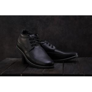 Ботинки Vankristi 927 (зима, мужские, натуральная кожа, черный)