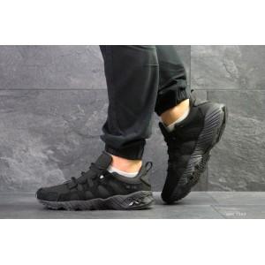 Мужские кроссовки Asics,замшевые,черные 45,46р