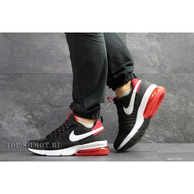 Мужские термо кроссовки Nike,черные с красным 43,46р