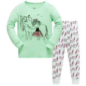 Пижама Девушка и единорог Baobaby