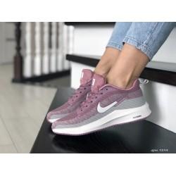 Кроссовки женские (подростковые) Nike Flyknit Lunar 3,фиолетовые